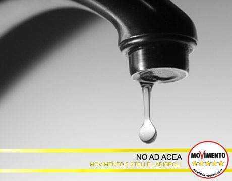 """Ms5 Ladispoli sull'acqua: """"Sì alla mozione per vedere agire i partiti"""""""