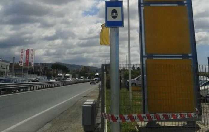 Autovelox in via Appia: intervento della Polizia locale