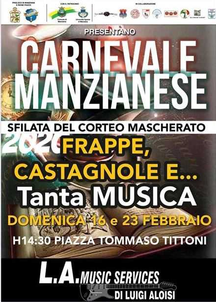 A Manziana è tempo di Carnevale Manzianese