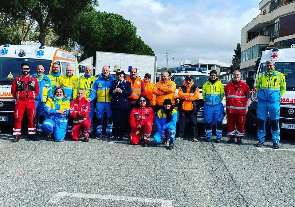 Carnevale a Santa Marinella, il supporto della Croce Rossa