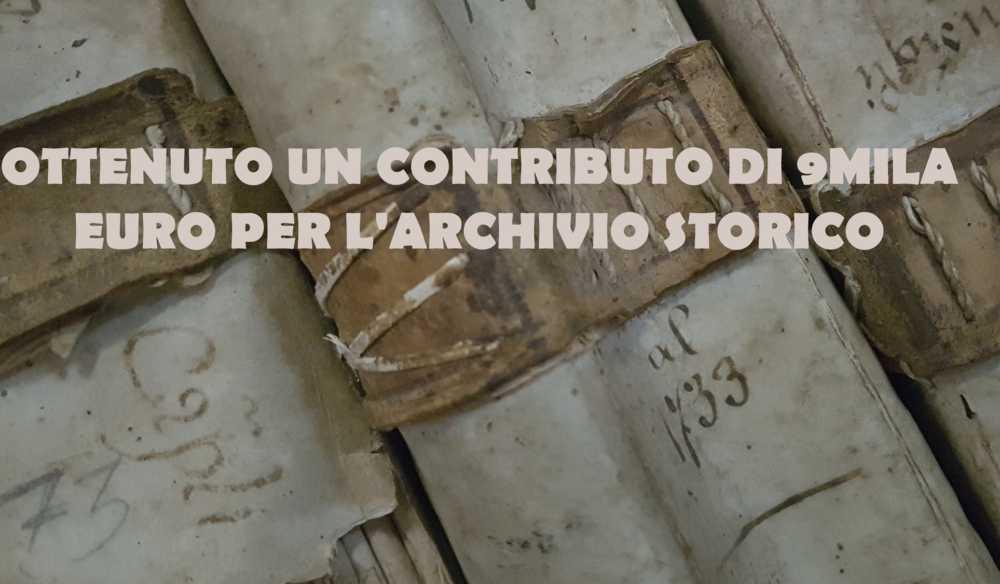 Manziana, arrivano 9mila euro: ecco i fondi per l'archivio storico