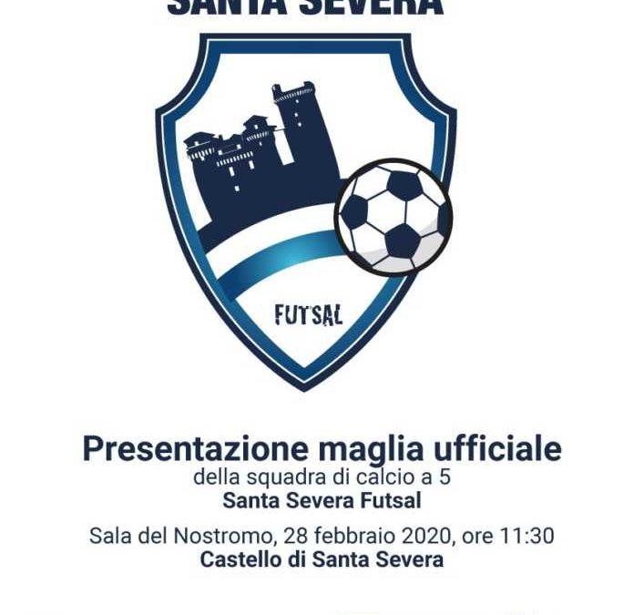Il Castello di Santa Severa sulle maglie della squadra di calcio a 5