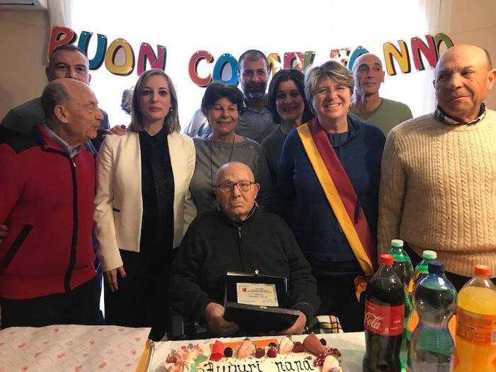 Ostia: Giuseppe Valenti compie 100 anni