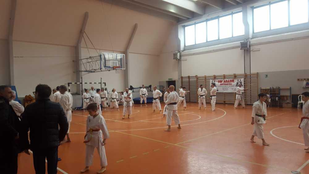 Ladispoli, piace il karate della Seven Belt Cup