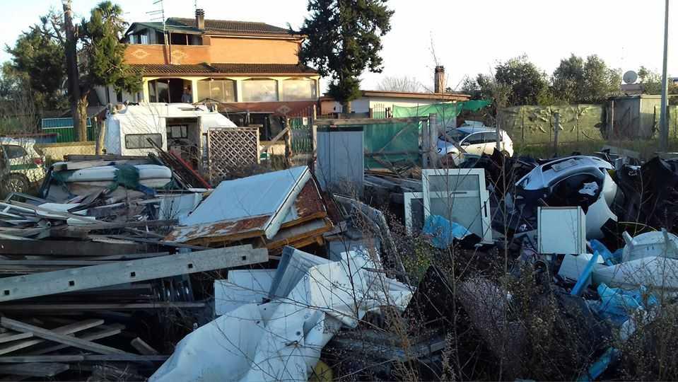 Discarica abusiva a Ladispoli sequestrata dalla Polizia Metropolitana