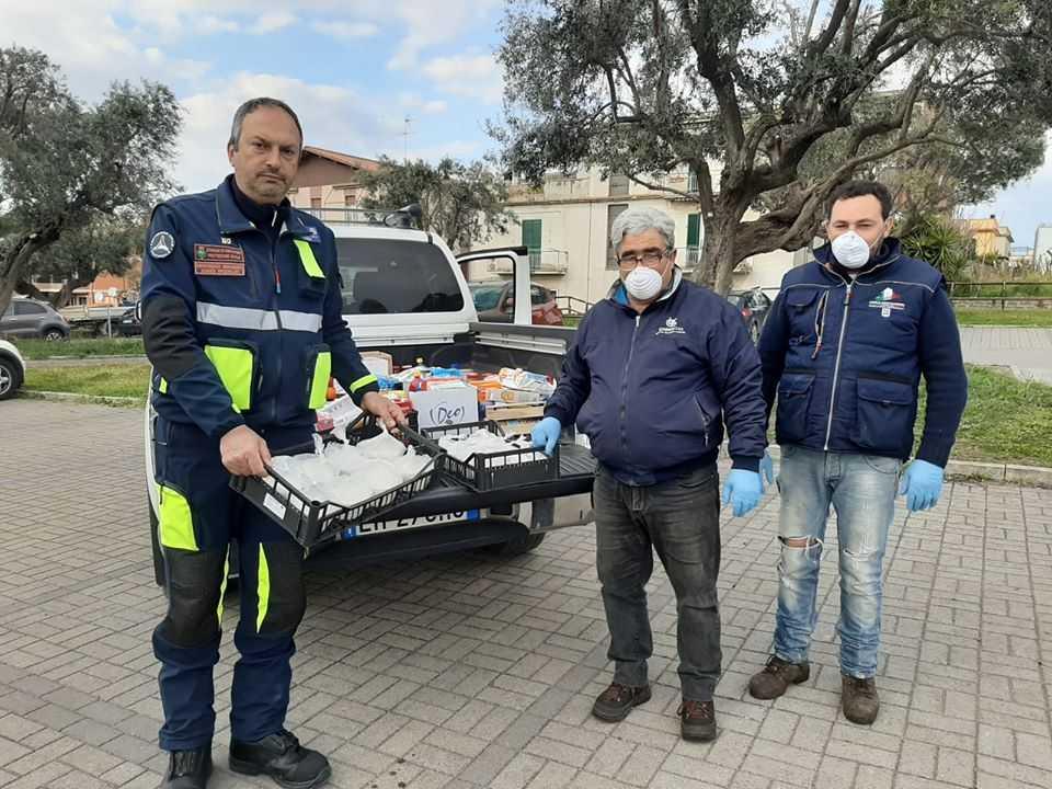 Azienda Flore Graziano consegna prociv bisegni cerveteri