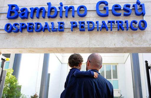 Coronavirus: Ospedale Pediatrico Bambino Gesù: 6 bambini in buone condizioni