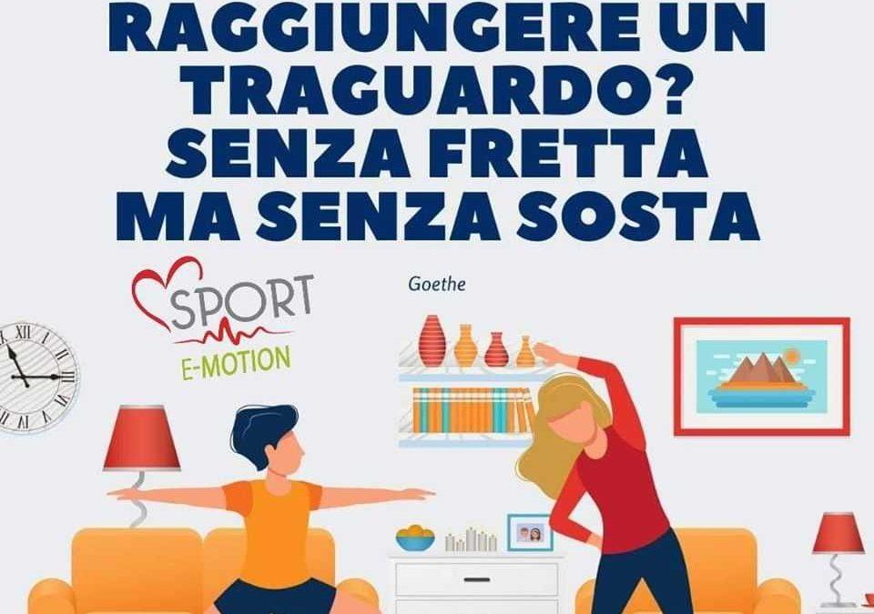 Manziana, la sfida di ginnastica casalinga proposta dalla Sport E-Motion