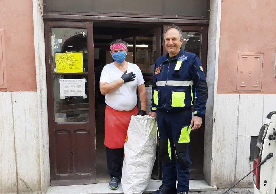 Cerveteri, anche il consigliere Piergentili dona il pane ai bisognosi