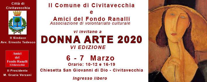 Civitavecchia, sesta edizione di Donna d'Arte