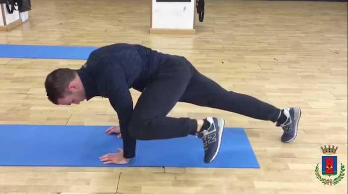 """""""Rimanete a casa ma non state fermi"""": a Fiumicino la ginnastica in video"""