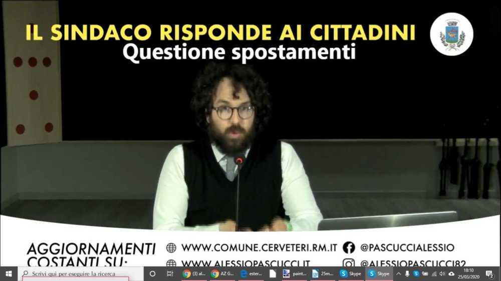 """Cerveteri, bene la diretta del sindaco Pascucci: """"La ripeteremo"""""""