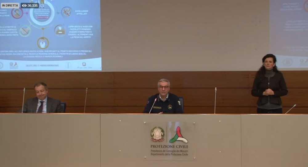 Leggero rallentamento del Coronavirus in Italia: meno contagiati rispetto a ieri