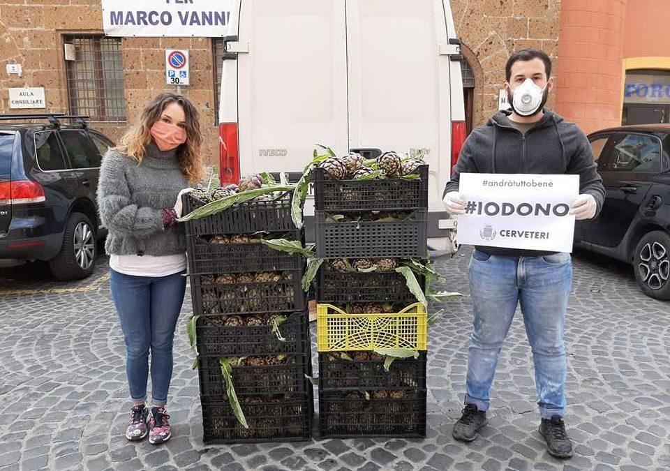 A Cerveteri proseguono le donazioni degli imprenditori agricoli