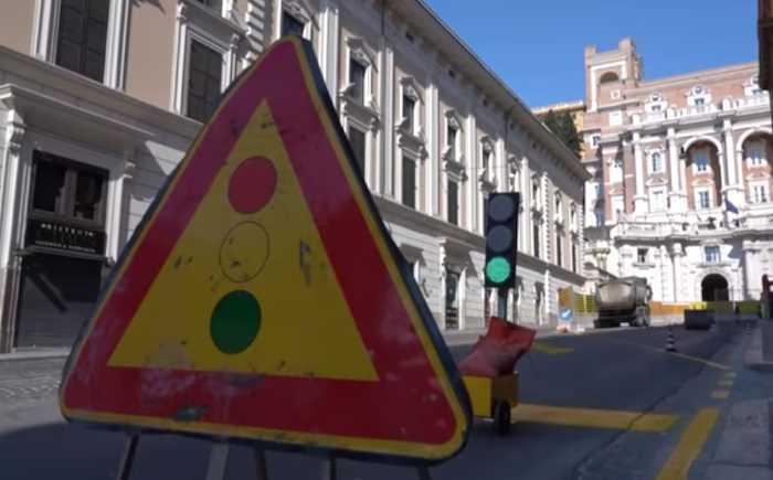 """""""Piano Sanpietrini"""": parte la riqualificazione di via IV Novembre"""