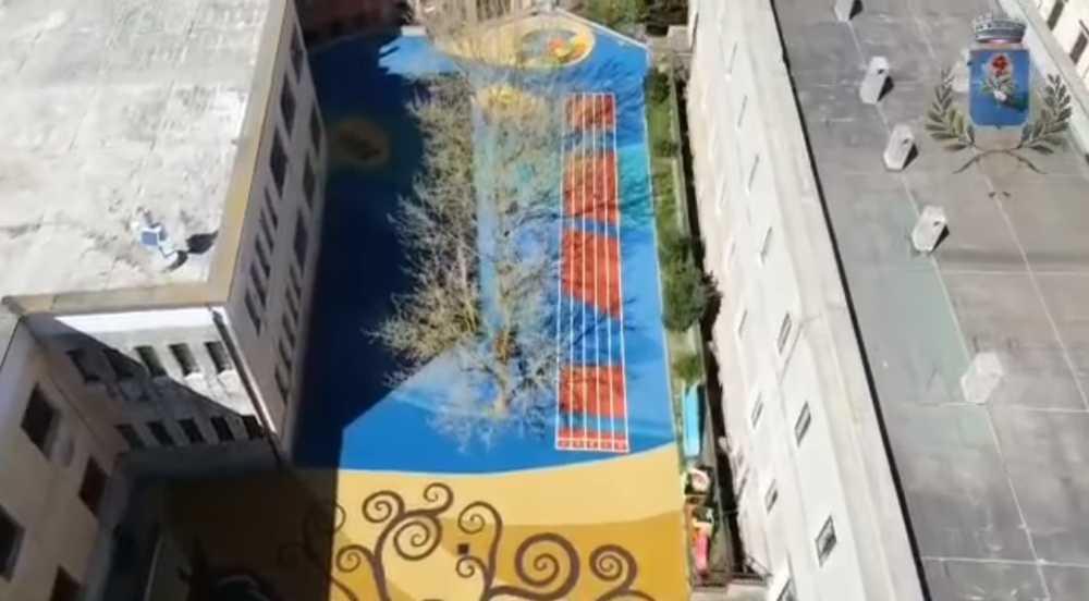 Bracciano, rifatto il giardino della scuola comunale primaria Tommaso Tittoni