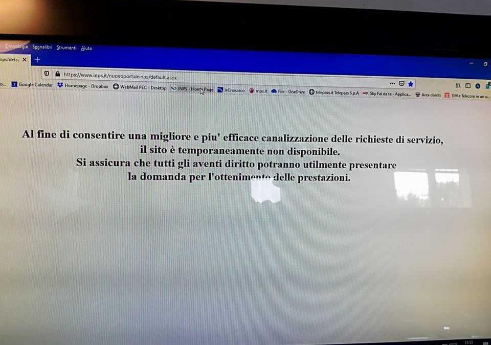 """Cna furente: """"Rallentamenti e disservizi inaccettabili per i 600 euro"""""""