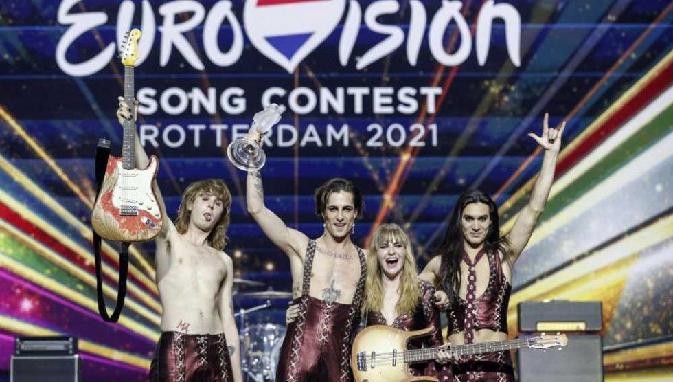 I Maneskin vincono l'Eurovision Song Contest 2021 - Terzo ...